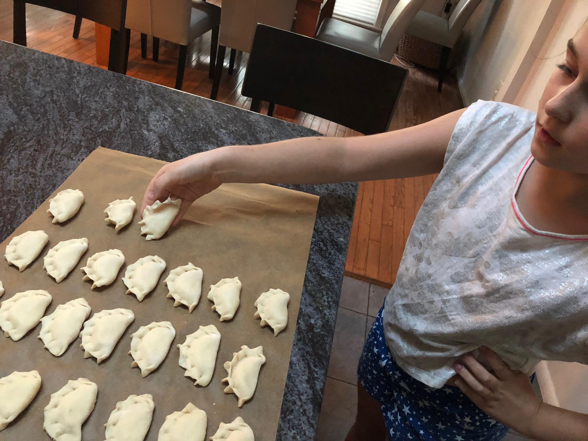 Your kids can make pierogi too!