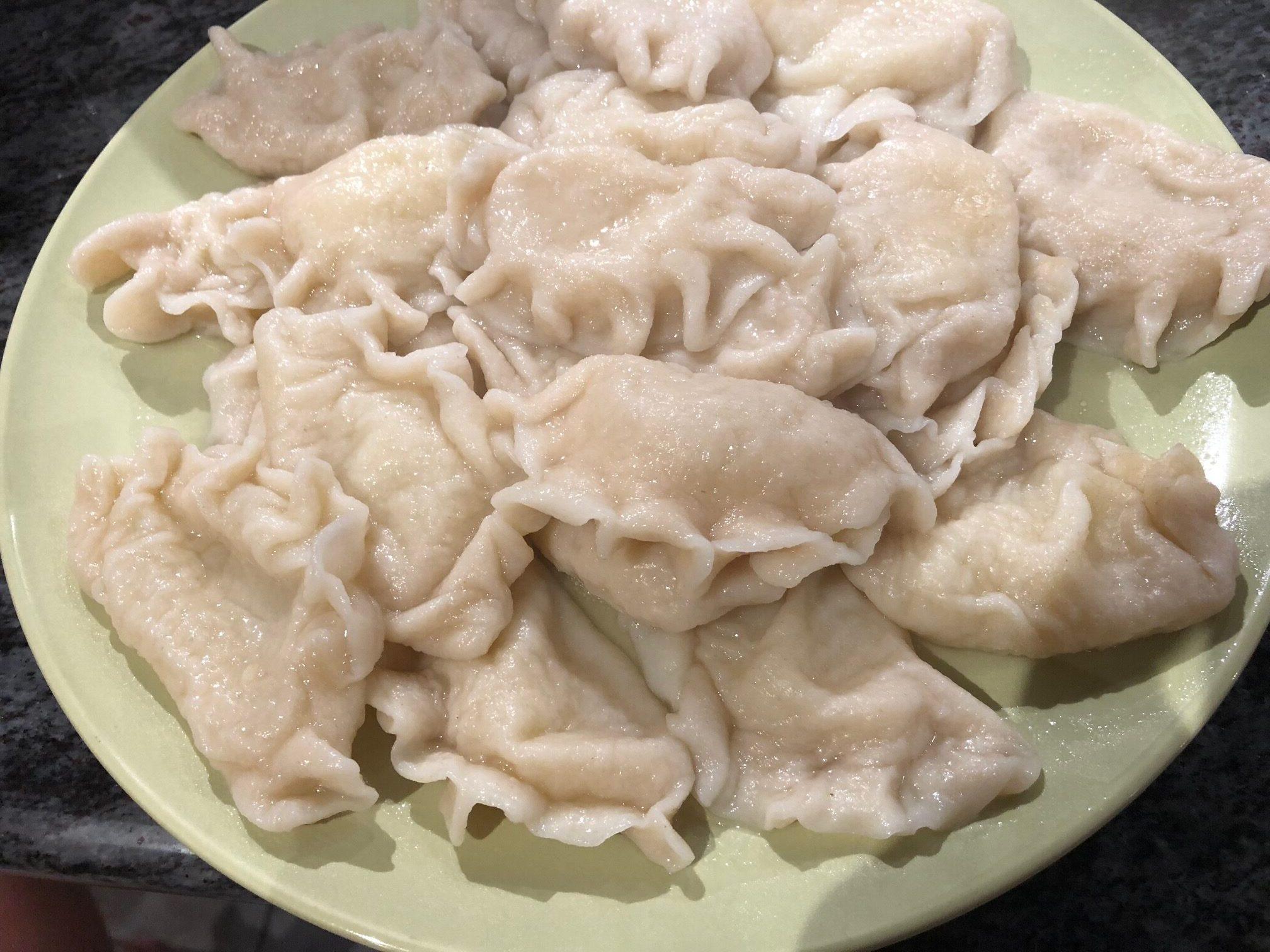 cooked pierogi