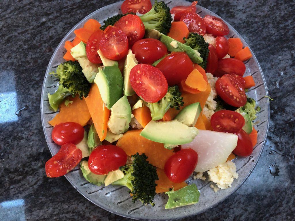 Millet Grouts Base Salad