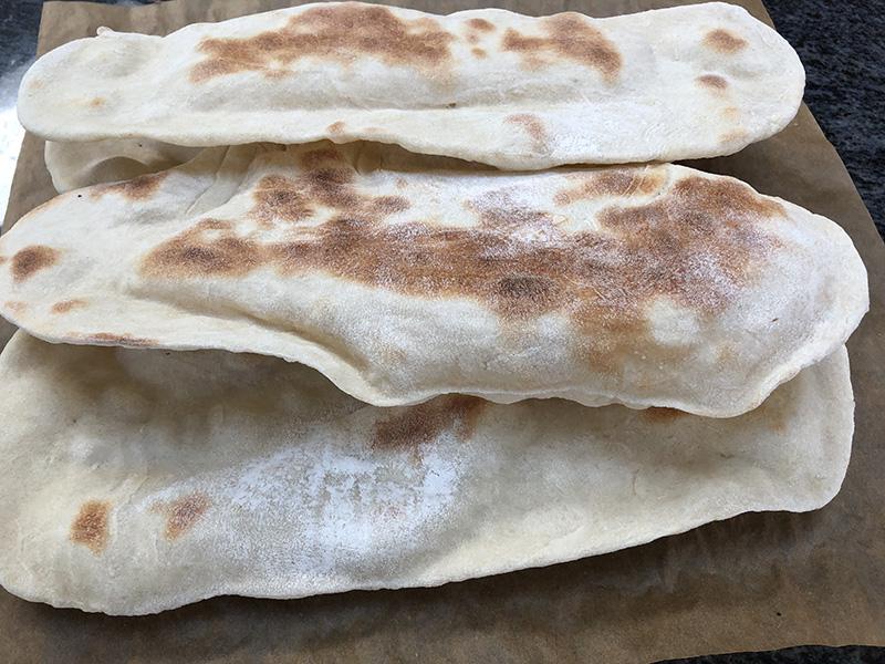 Baked Flat Bread