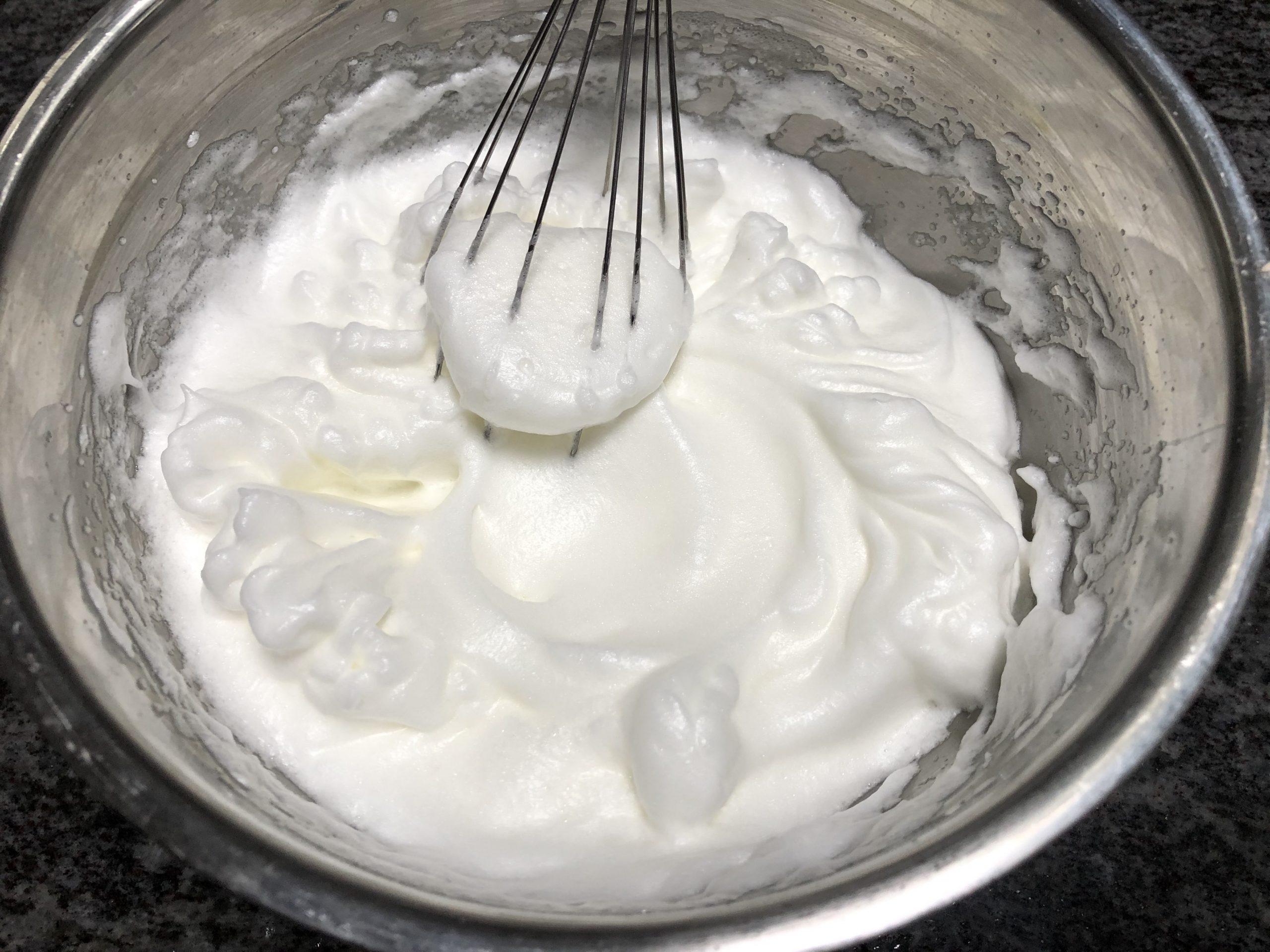 beating egg whites
